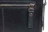 Сумка женская кожаная маленькая клатч  SULLIVAN sg32(25) черная, фото 5
