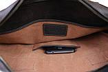 Сумка мужская для документов большая кожаная А4 SULLIVAN smg21(45) коричневая, фото 6