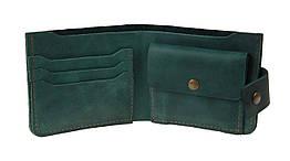 Кошелек женский кожаный маленький SULLIVAN kgm12(8) зеленый