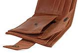 Кошелек мужской кожаный маленький SULLIVAN kmg4(8) светло-коричневый, фото 3