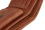 Кошелек мужской кожаный маленький SULLIVAN kmg4(8) светло-коричневый, фото 5