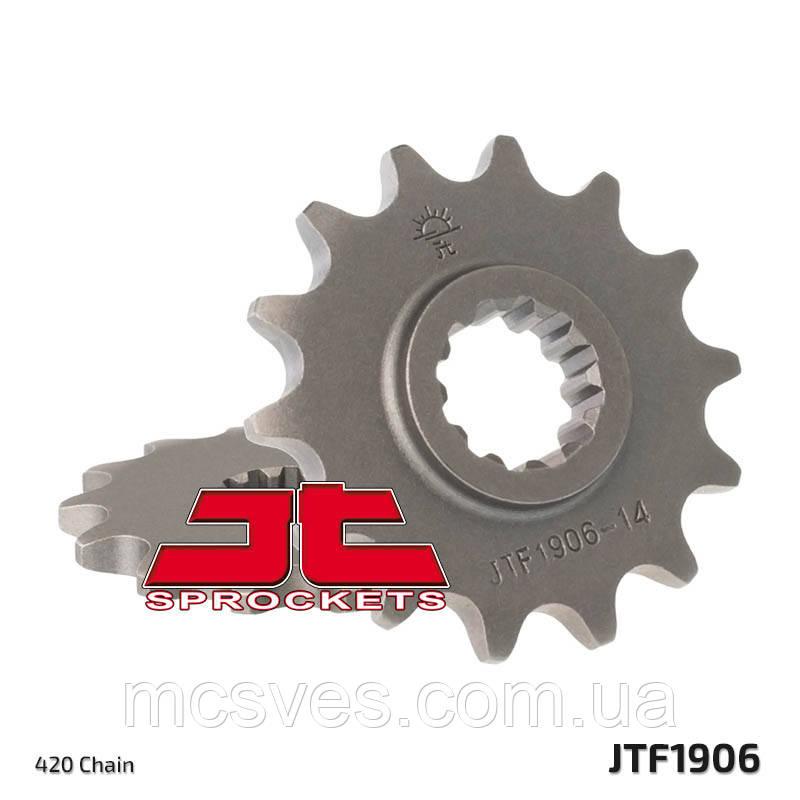 Звезда стальная передняя JT Sprockets JT JTF1906.12