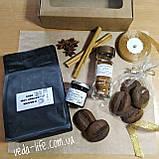 Кофейный набор Coffee-Love: кофе 100% Арабика, кофейный экстракт, специи для кофе, кофейное печенье/шоколад, фото 3