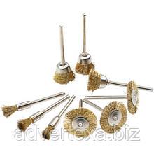 Металлические щеткидля удаления ржавчины, полировальная щетки для вращающегося шлифовального инструмента