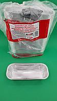 Контейнер из пищевой алюминиевой прямоугольный R42G 100шт в упаковки (1 пач)