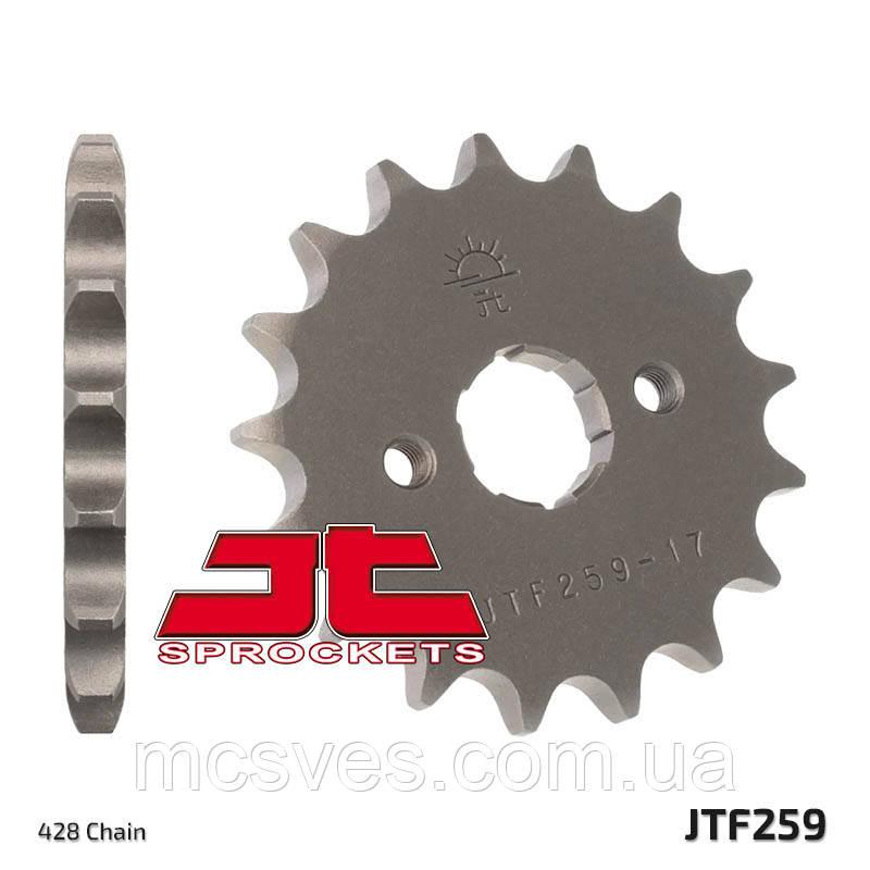Звезда стальная передняя JT Sprockets JT JTF259.14