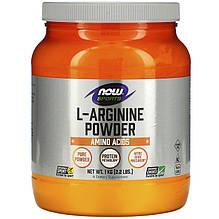"""L-Аргинин NOW Foods, Sports """"L-Arginine Powder"""" в порошке (1 кг)"""