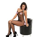 Сексуальна боді сітка комбинезон бодистокинг боди сетка сексуальное белье, фото 4
