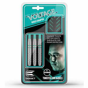 Дротики для гри в електронний дартс Voltage Target Англія 18 грам