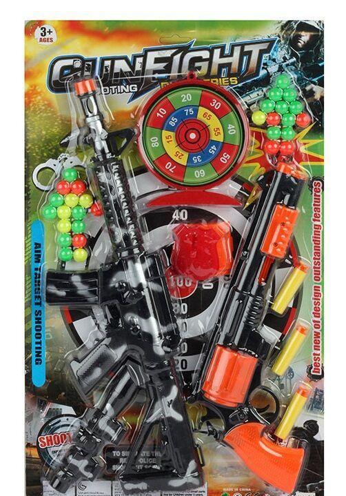 Военный набор GUN FIGHT на листе 9311-90 А