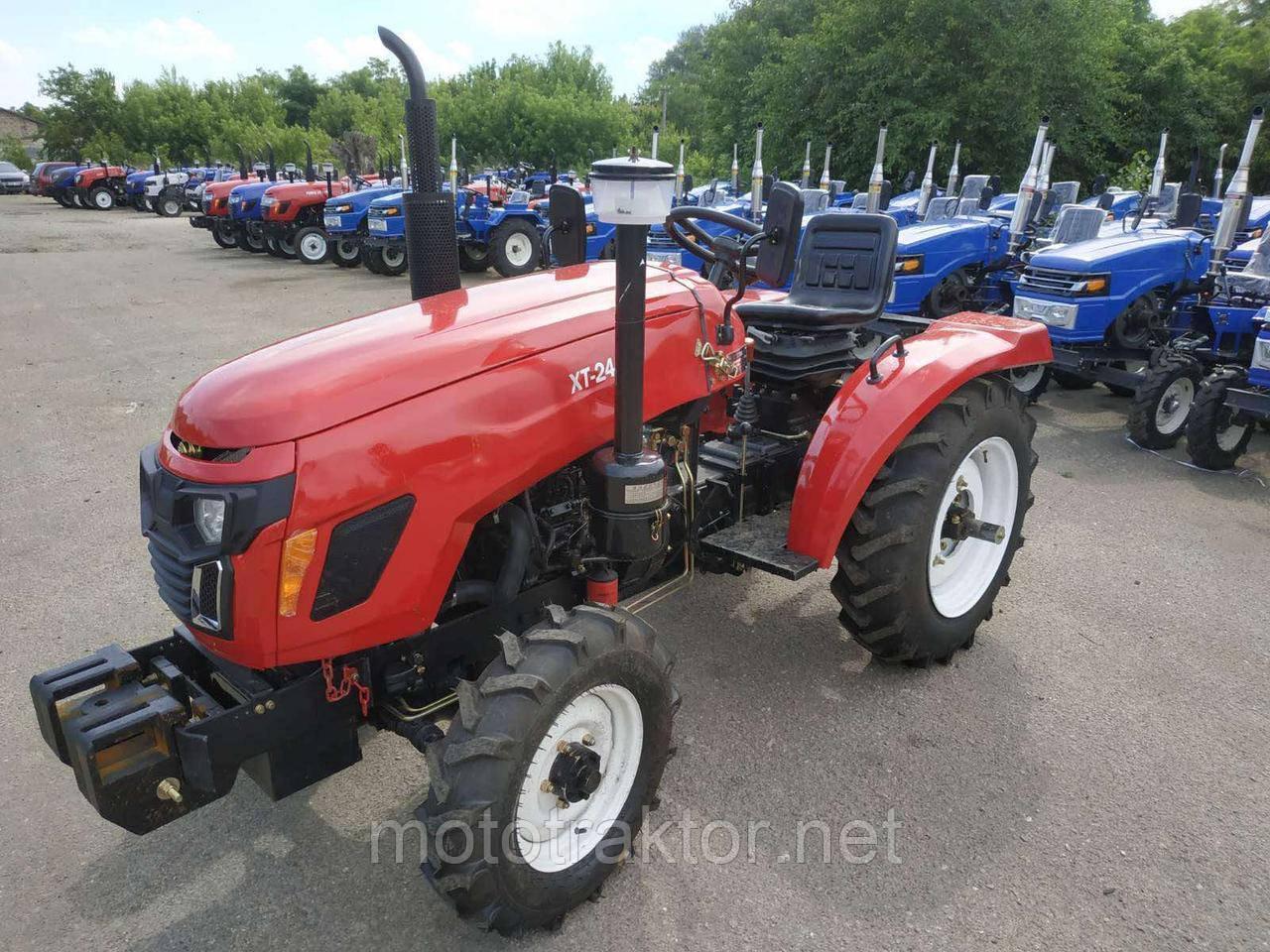 Трактор Т244 (24 л.с. ГУР, блокировка)