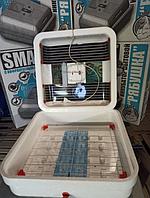 Домашний инкубатор для яиц Рябушка 70 яиц Смарт аналоговый с механическим переворотом яиц Инкубатор бытовой