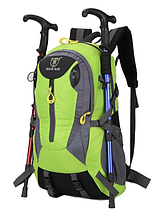 Туристичний похідної рюкзак XUANYUFAN 38L Непромокальний Синій, фото 3