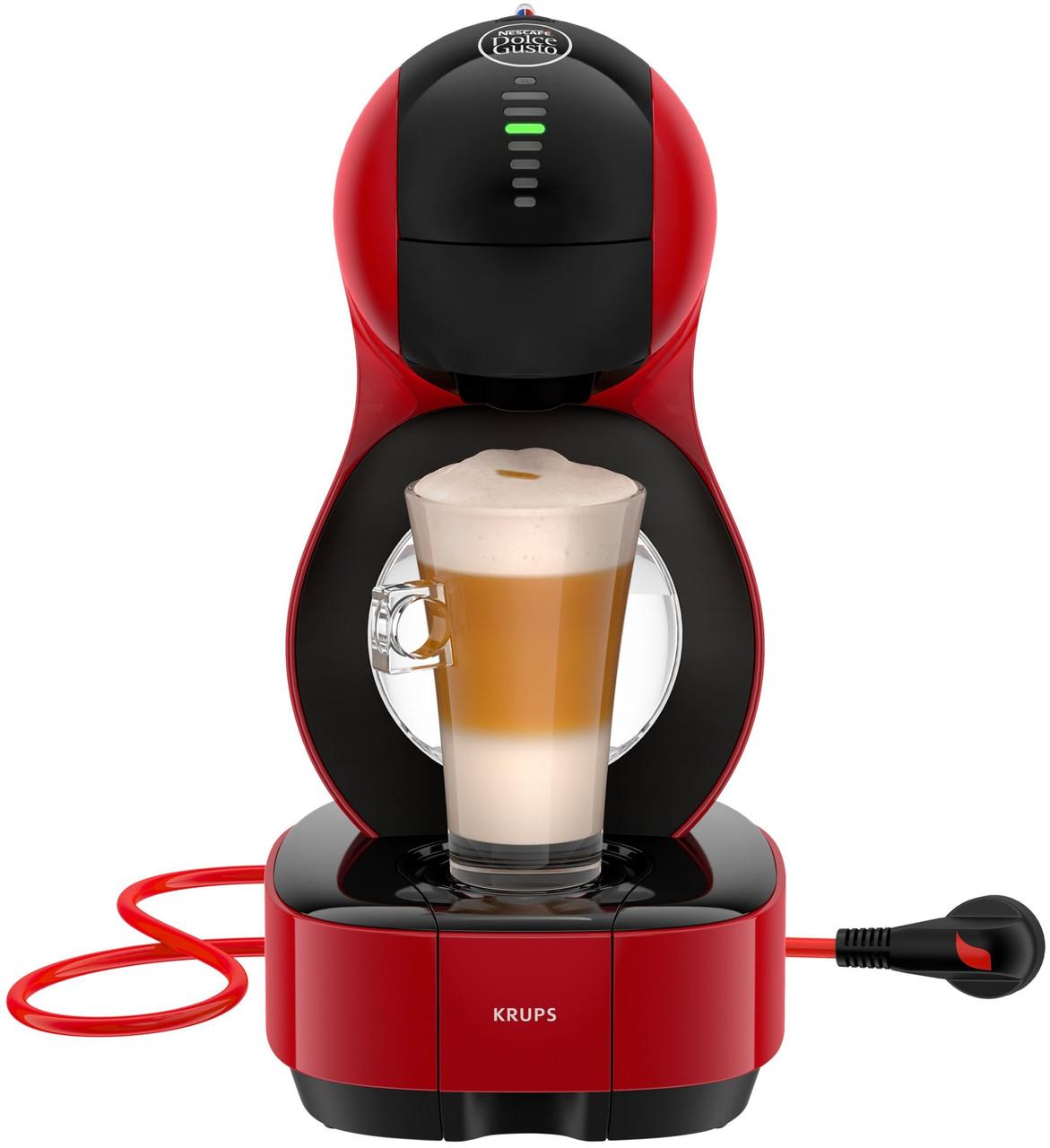 Капсульная кофеварка Krups Dolce Gusto LUMIO Red KP1305
