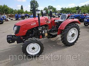 Трактор Т244LUX (24 л.с. ГУР, блокировка, 4+1)