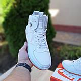 Женские кроссовки в стиле Nike Lunar Force 1 Duckboot белые, фото 8