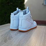 Женские кроссовки в стиле Nike Lunar Force 1 Duckboot белые, фото 10