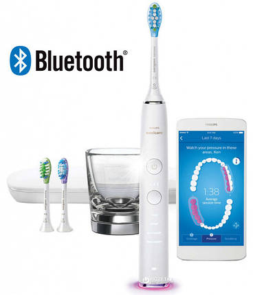 Электрическая зубная щетка Philips Sonicare DiamondClean Smart HX9903/03, фото 2