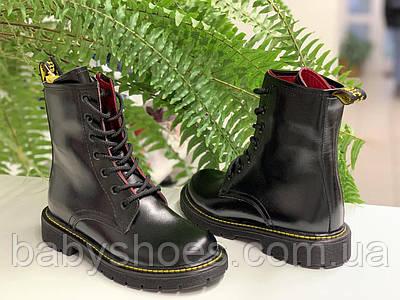 Кожаные деми ботинки для девочки,LC Kids р.31, 32, мод.550-1-1
