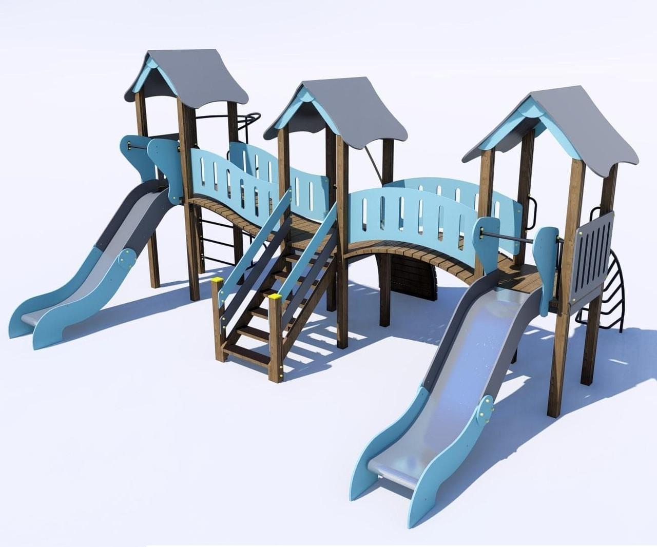 Детские игровые комплексы от 7 до 12 лет IК-6.28