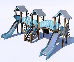 Дитячі ігрові комплекси від 7 до 12 років ІК-6.28