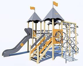 Дитячі ігрові комплекси від 7 до 12 років ІК-6.37