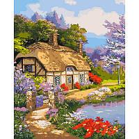 Набір для малювання картини за номерами Заміський будиночок КНО2255
