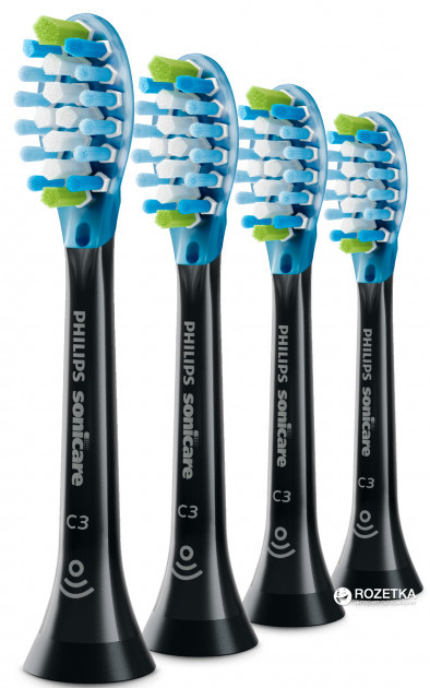 Насадка для электрической зубной щетки Philips Sonicare C3 Premium Plaque Defence HX9044/33