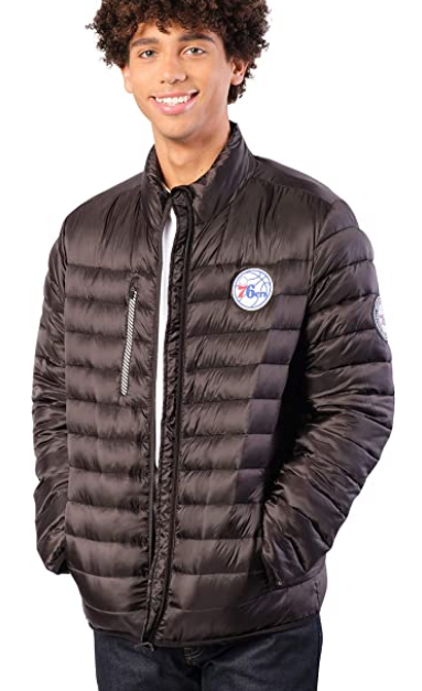 Куртка Ultra Game NBA Mens Lightweight Packable Puffer Down Jacket - Black
