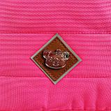 Школьный рюкзак анатомический с пеналом и светоотражателями для девочки 1 - 2 - 3 класс, сине-розовый портфель, фото 9