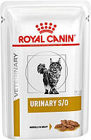 Royal Canin Urinary S/O in Gravy Диета для кошек при заболеваниях нижних мочевыводящих путей 85 г