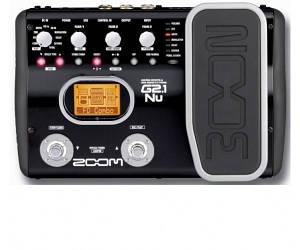 Процессор для электрогитары Zoom G2.1Nu