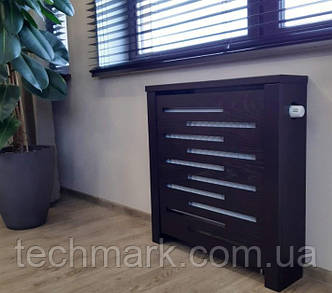 Декоративная решетка экран (короб) на батарею отопления R155-KД