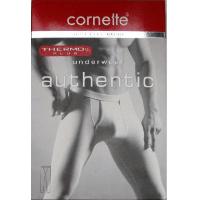 Cornette Кальсони чоловічі чорні Authentic Thermo plus Cornette (XXL)