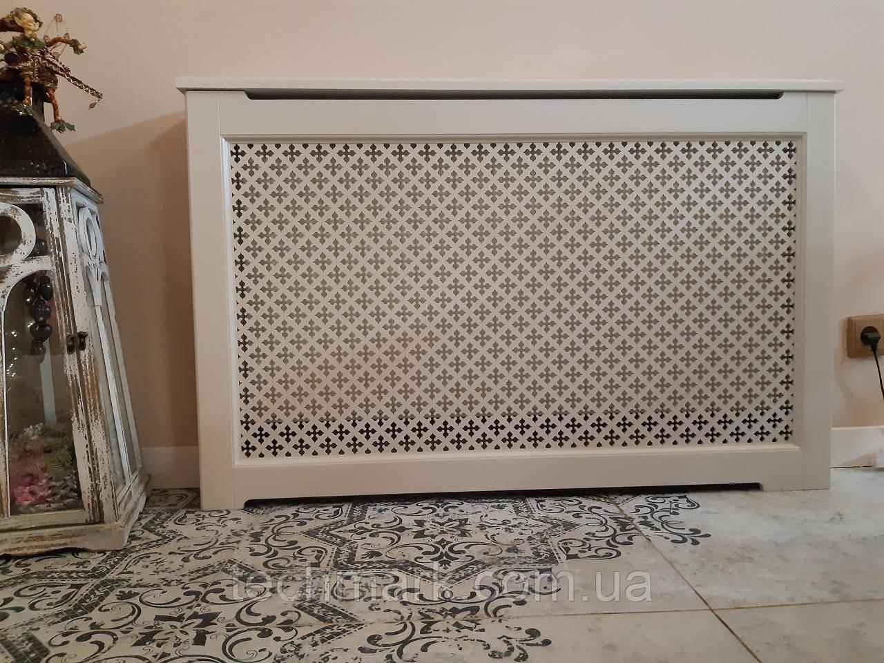 Декоративная решетка экран (короб) на батарею отопления R104-K