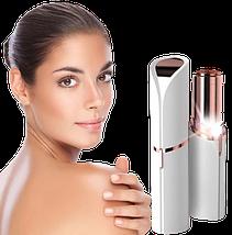 Эпилятор для удаления волос на лице Flawless Facial Hair Remover - женский триммер депилятор в форме помады, фото 3