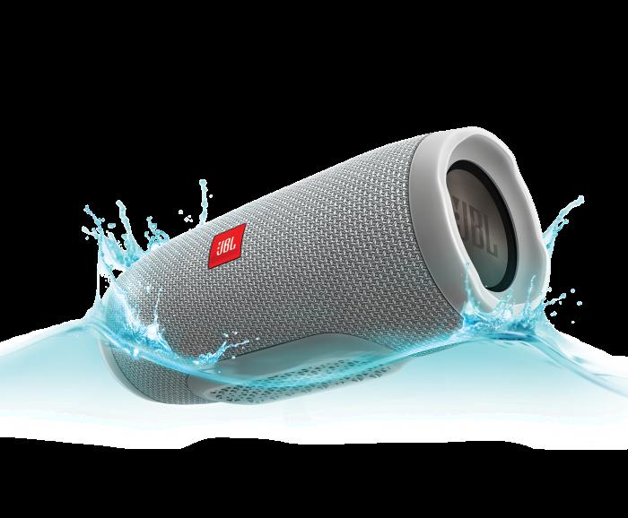 Портативная колонка JBL CHARGE 3+ - беспроводная водонепроницаемая Bluetooth колонка Серая (Реплика)