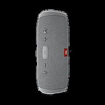Портативная колонка JBL CHARGE 3+ - беспроводная водонепроницаемая Bluetooth колонка Серая (Реплика), фото 2