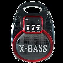 Колонка Golon RX 820 с микрофоном - портативная Bluetooth колонка с радио и светомузыкой, фото 3