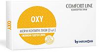 Контактные линзы OXY силикон-гидрогелевые, (1 шт). Interojo