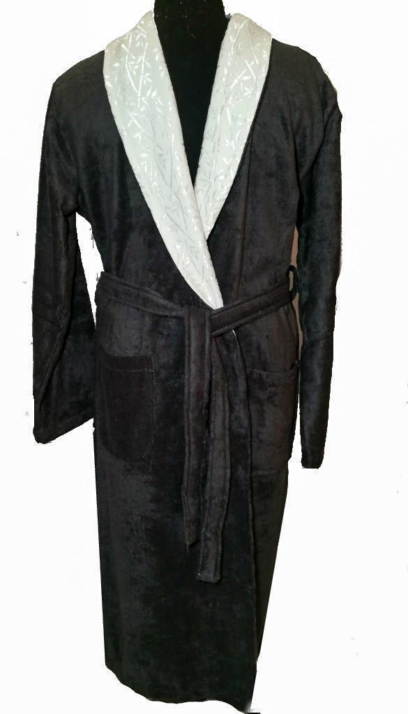 Турецкий махровый мужской халат, р. XL 54-56 ТМ Funda, Турция