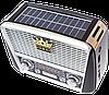 Радиоприемник GOLON RX-455S - портативный радиоприёмник с солнечной панель - колонка MP3 с USB и аккумулятором, фото 4