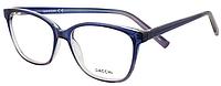 Оправа для очков, женская пластиковая двухцветная оправа, сине-сиреневая, Dacchi