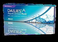 Контактные линзы Dailies Aqua Comfort Plus Multifocal однодневные (мультифокальные), 30шт, Alcon