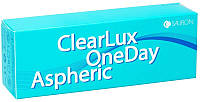 Контактные линзы/Контактні лінзи ClearLux OneDay Aspheric, (30шт) Sauflon