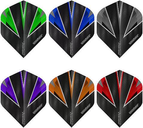 Набор оперений для дротиков дартс Winmau Prism 9 штук, фото 2