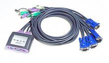 KVM переключатели и кабеля