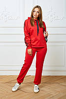 Женский костюм Woman Fashion А-185 красный (р 44-54)