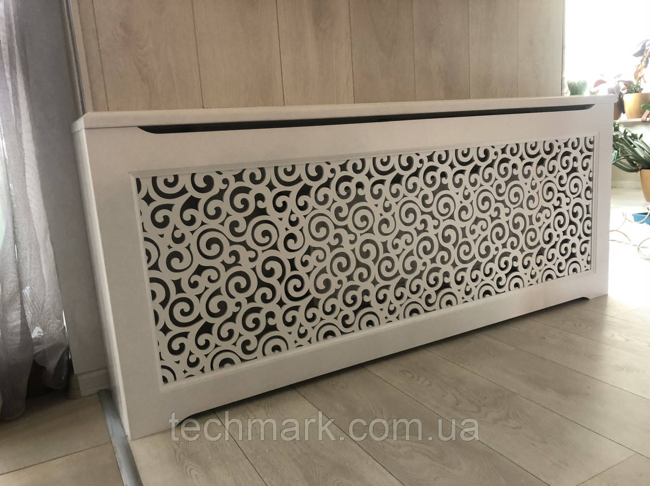 Декоративная решетка экран (короб) на батарею отопления R70-K