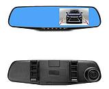 Авторегистратор видеорегистратор зеркало L604 с антибликовым покрытием Видеорегистратор с камерой, фото 3